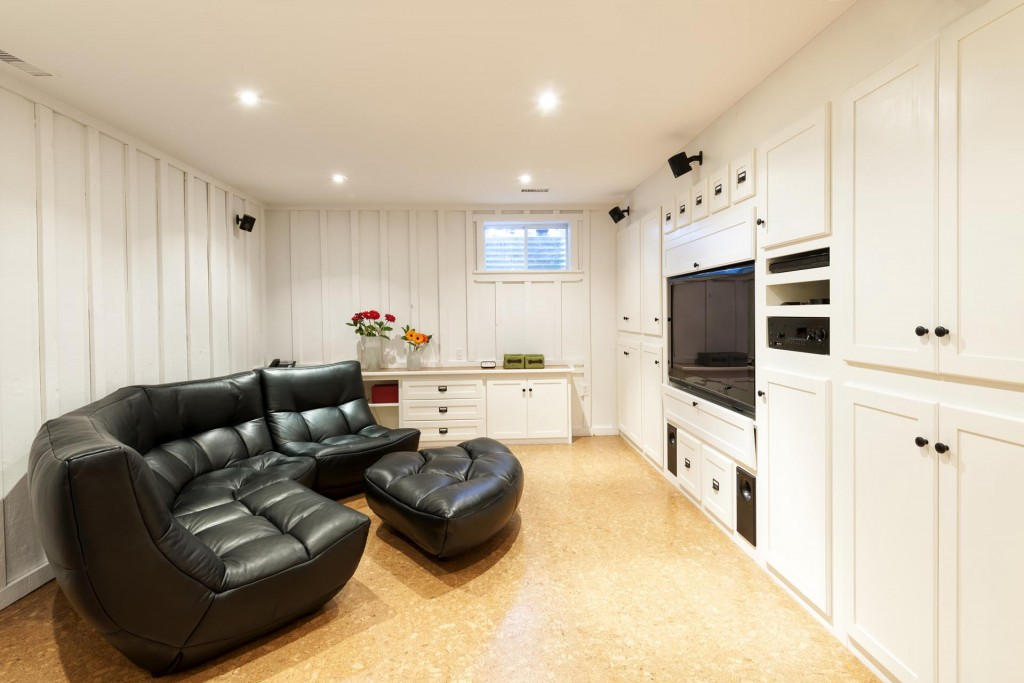 Remodel your basement with help from Matthews Construction and Design!