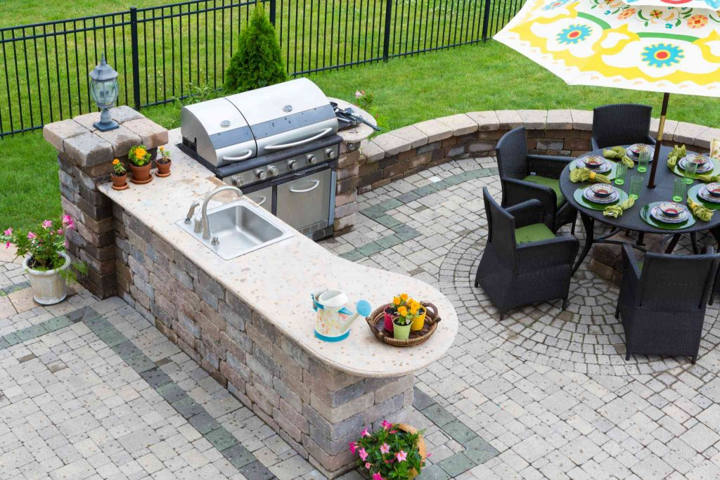 Have you always wanted an outdoor kitchen?
