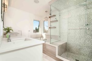 Remodel the bathroom with Matthews Construction & Design!